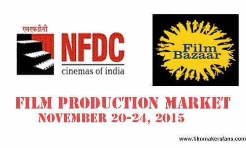 NFDC Co-Production market 2015 NFDC Co-Production market 2015