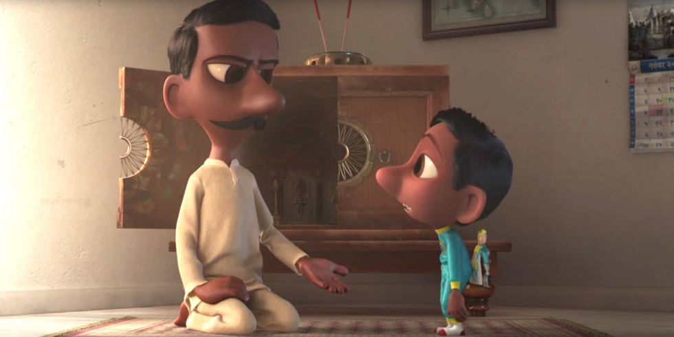 Disney Pixar's Upcoming Film 'Sanjay's super team is directed Indian Filmmaker Sanjay Patel