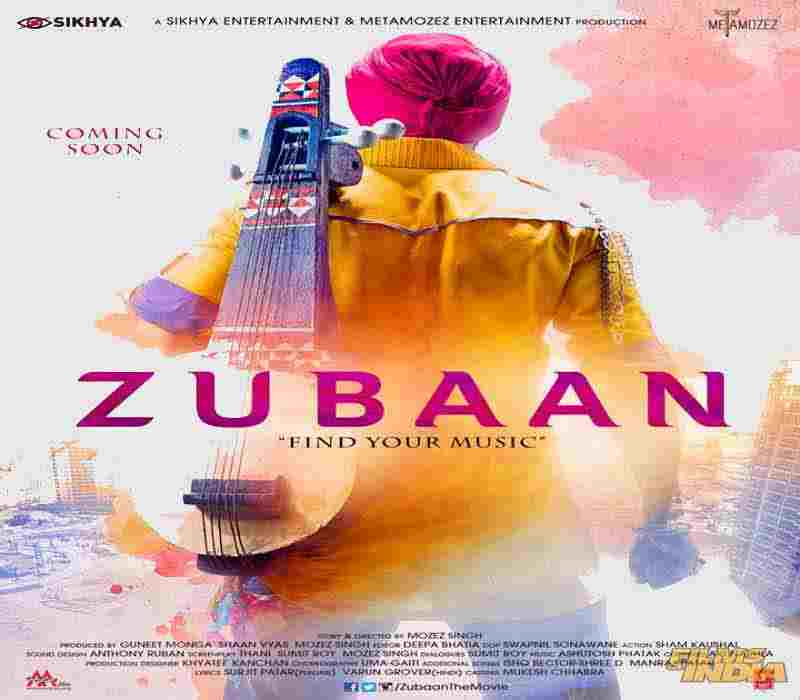 zubaan film poster download