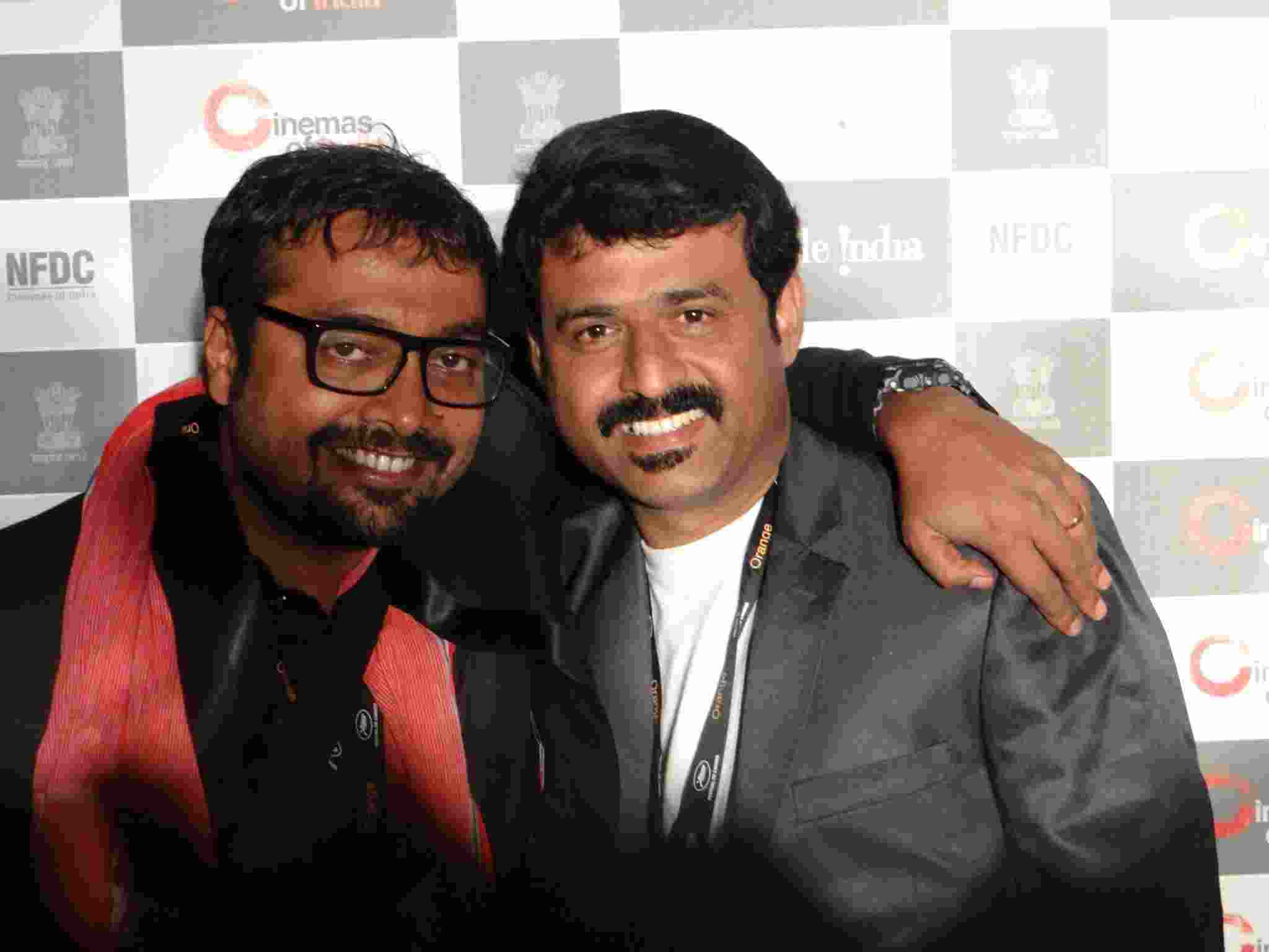 With Filmmaker Anurag kashyap