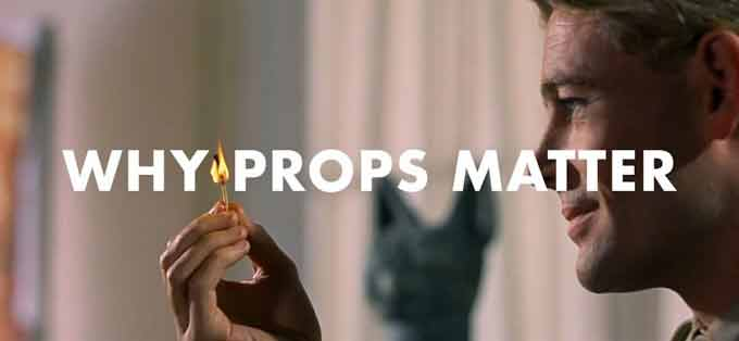 Why props Matter In Filmmaking