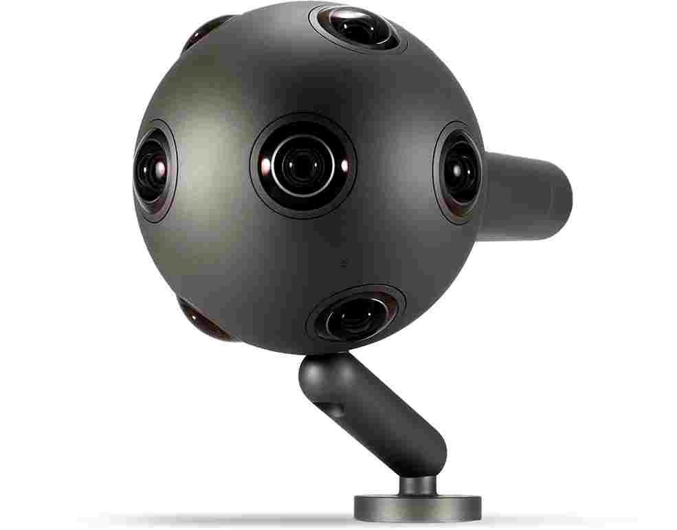 virtual reality camera ozo