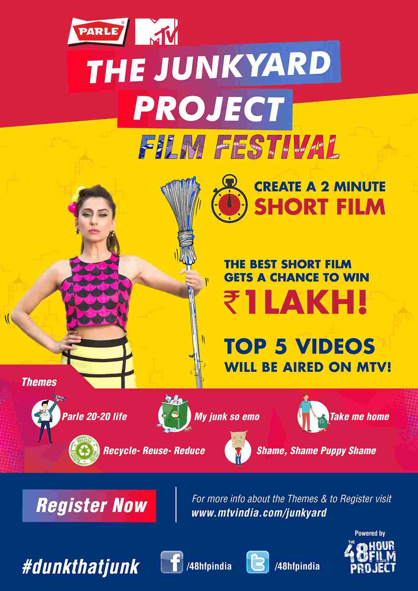mtv short film festival free submission