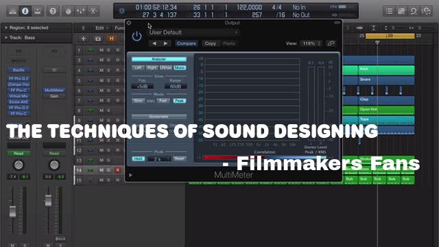 sound designing techniques and tips
