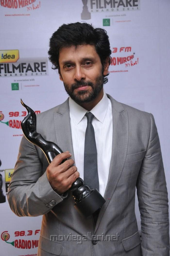 Chiyaan Vikram at 59th Filmfare Awards South Red Carpet Stills